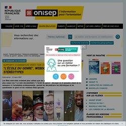 """""""L'école du genre"""", webdoc contre les stéréotypes - Onisep"""