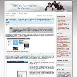Webdoc, pour publier simplement sur le web