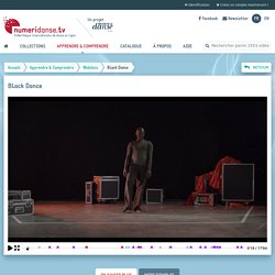 Webdocumentaire : «Black Dance»