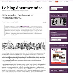 BD interactive : Dessine-moi un webdocumentaire…