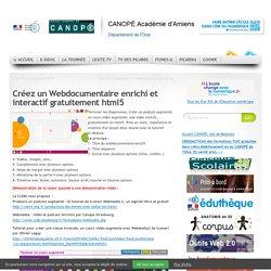 Créez un Webdocumentaire enrichi et interactif gratuitement html5
