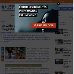 Le webdocumentaire «Liberté, Inégalités?, Fraternité»