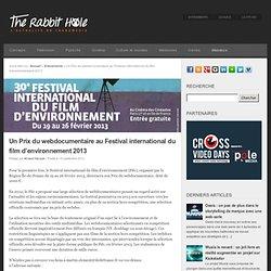 Un Prix du webdocumentaire au Festival international du film d'environnement 2013