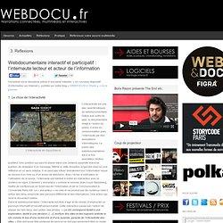 Interactivité des webdocumentaires