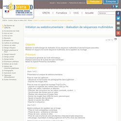 Initiation au webdocumentaire : réalisation de séquences multimédias