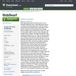 WebDwarf - Free software downloads and software reviews