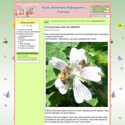 Une journée avec les abeilles - Webécoles - Circonscription de Fontaine-Vercors