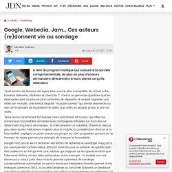 Google, Webedia, Jam… Ces acteurs (re)donnent vie au sondage
