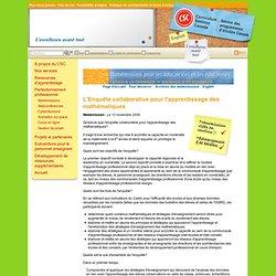 Webémissions pour les Éducatrices et les Éducateurs - Literacy and Numeracy Secretariat