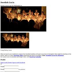 Swedish Lucia