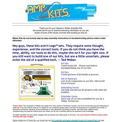 Weber Amplifier Kits