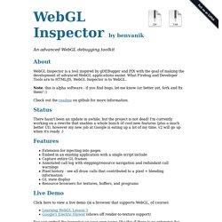 WebGL Inspector