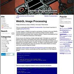 WebGL Image Processing