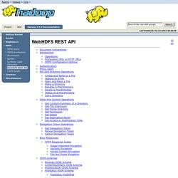 WebHDFS REST API