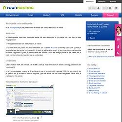 Email Webhosting > E-mail, Webruimte en Dataverkeer > Your Hosting