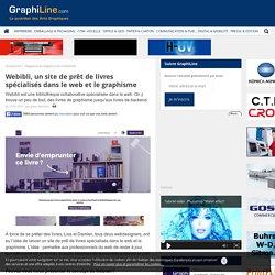Webibli, un site de prêt de livres spécialisés dans le web et le graphisme