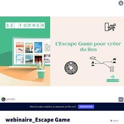 webinaire_Escape Game