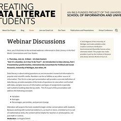 Webinar Discussions