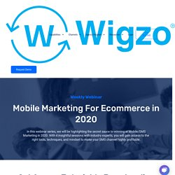 Join Weekly Webinar on Mobile Marketing For Ecommerce in 2020 (COVID-19)