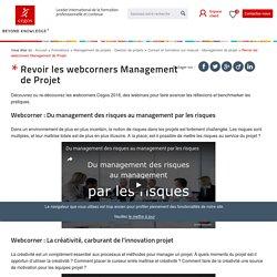 Webinars en Management de Projet