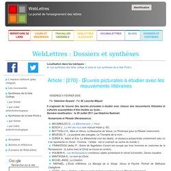 : Dossiers et synthèses