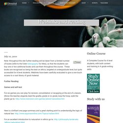 Weblinks and reading