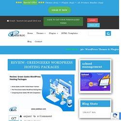 Review Greengeeks WordPress Hosting