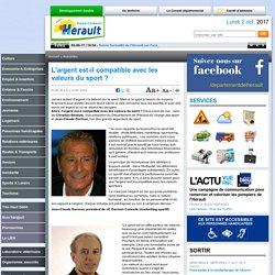 Webmagazine L'Hérault au jour le jour - le journal du Département