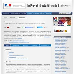 Webmarketeur