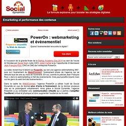 PowerOn : webmarketing et évènementiel