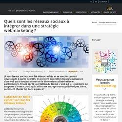 Webmarketing : quels réseaux sociaux à intégrer ?