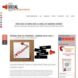 Formation marketing internet et réseaux sociauxCompte Pinterest pour entreprise, mode d'emploi!