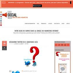 Découvrir Twitter et ses avantages en 6 questions clés.