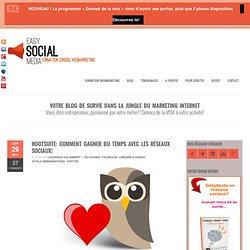Hootsuite, comment gagner du temps avec les réseaux sociaux