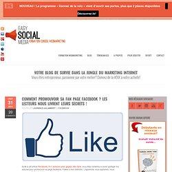 Tutoriel facebook: comment gagner facilement des fans