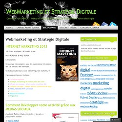 Webmarketing et Stratégie Digitale