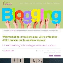 Webmarting et réseaux sociaux - Francecopywriter