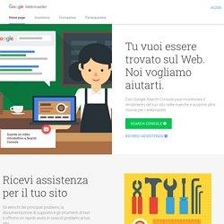 Centro webmaster Google