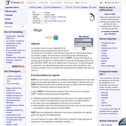 Wapt - Le coin du Webmaster