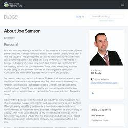 About Joe Samson's Blog : Real Estate Webmasters Blogging Platform