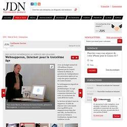 Front et Back office - Webnapperon, Internet pour le troisième âge - Outils numériques - Journal du Net Solutions