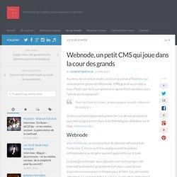 Webnode, un petit CMS qui joue dans la cour des grands —Blog de Florent Bertiaux