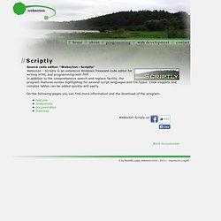 Webocton - Scriptly - Start - Start-Seite