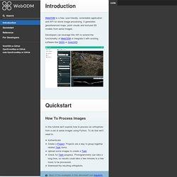 WebODM Documentation