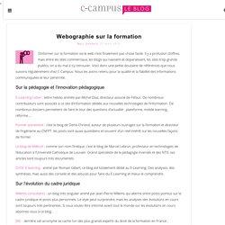 Webographie sur la formation