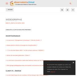 Webographie / Les ressources - Observatoire climat