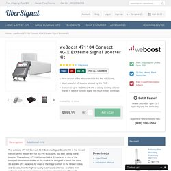 weBoost 471104 Connect 4G-X Extreme Signal Booster Kit