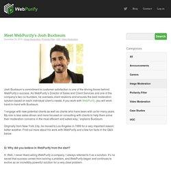 Meet WebPurify's Josh Buxbaum