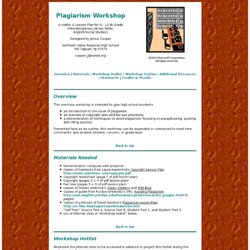 Lesson plans for outlines for research papers