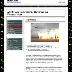 A Cold War Comparison: The Korean & Vietnam Wars
